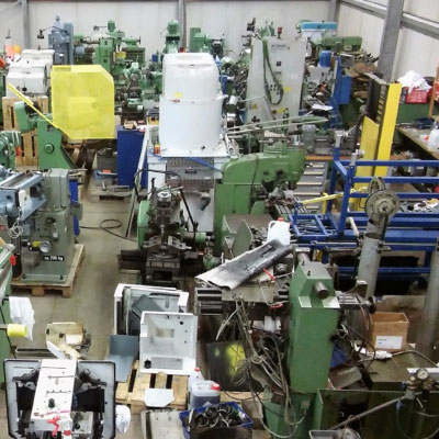 Gebrauchte Maschinen bei WTS