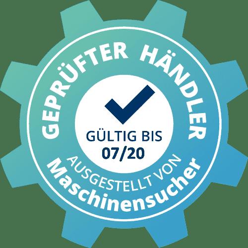 Geprüfter Händler - WTS Maschinen